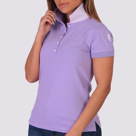 OLIVIA - Short Sleeved Sports Polo Shirt