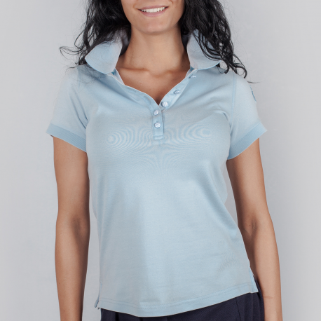 OLIVIA - Short Sleeved Sports Polo Shirt
