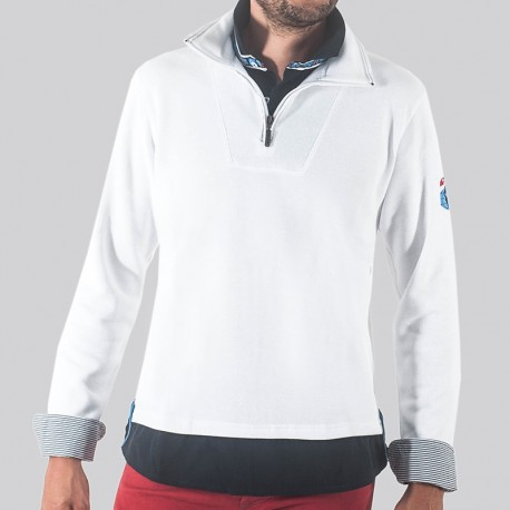 ALBAIN - Sweat desportivo de manga comprida