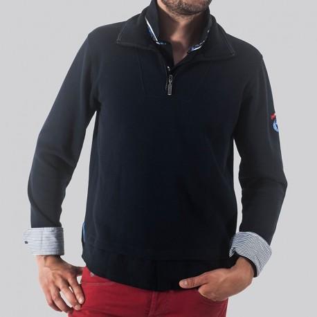 ALBAIN - Long sleeves sporty sweater