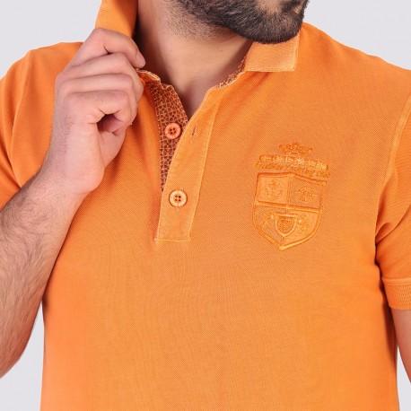 THÉO- Short sleeve polo for man